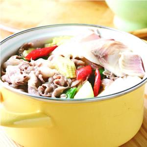 鯛魚羊肉煲