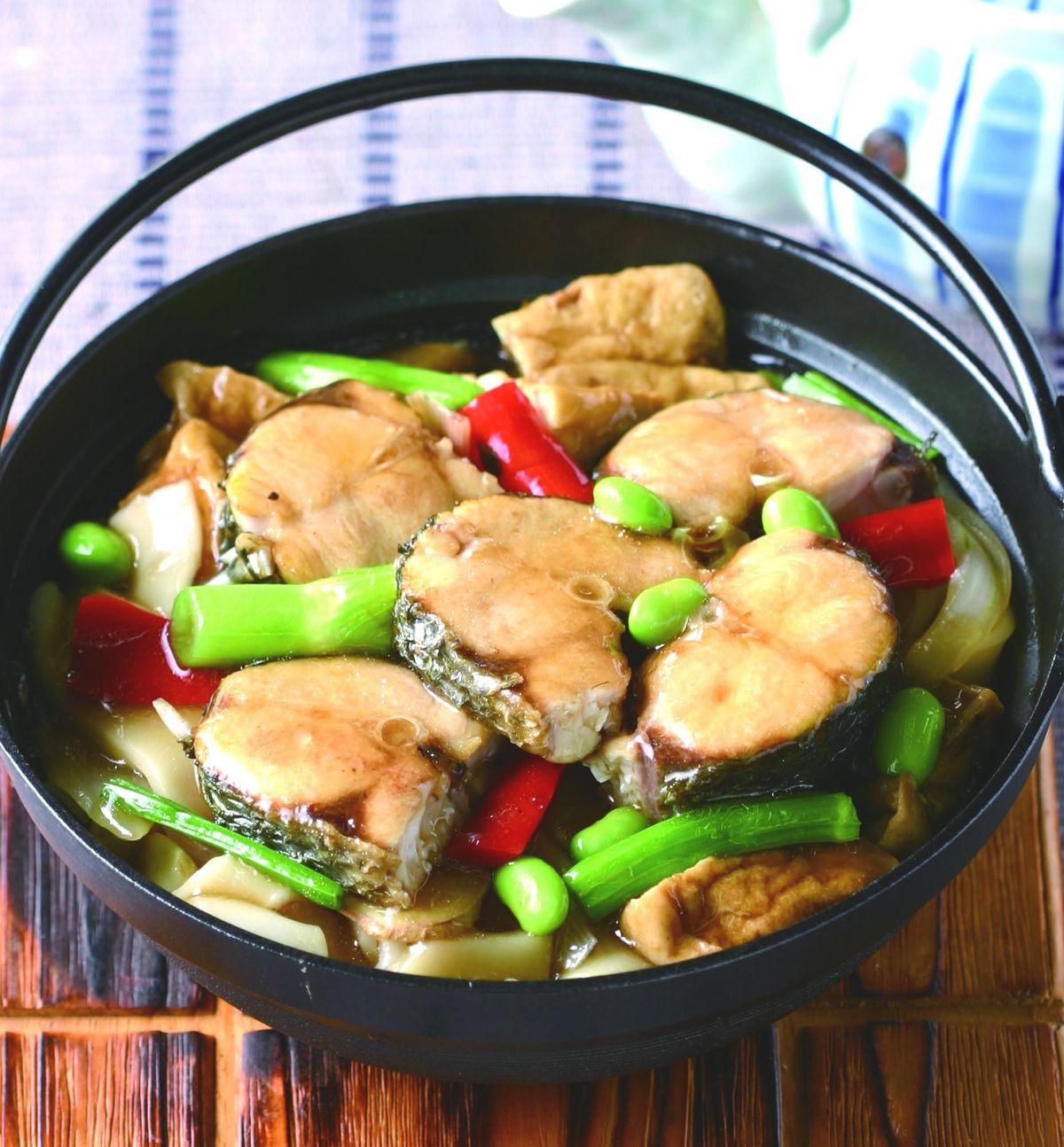 食譜:鮮魚粄條煲