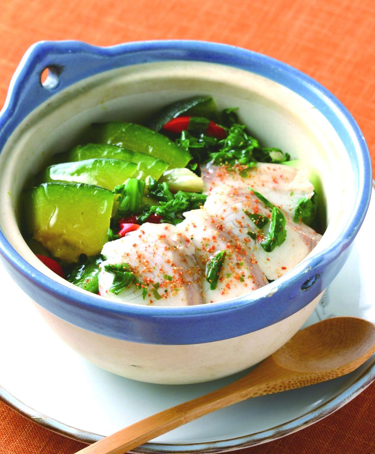 食譜:魚片翡翠煲