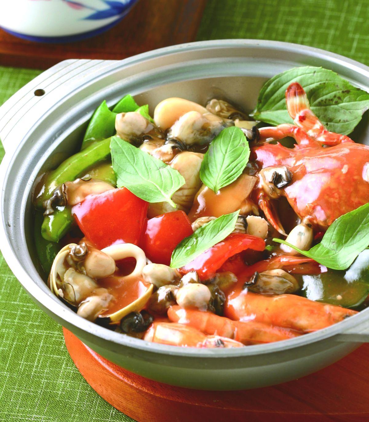 食譜:泰式海鮮鍋(1)