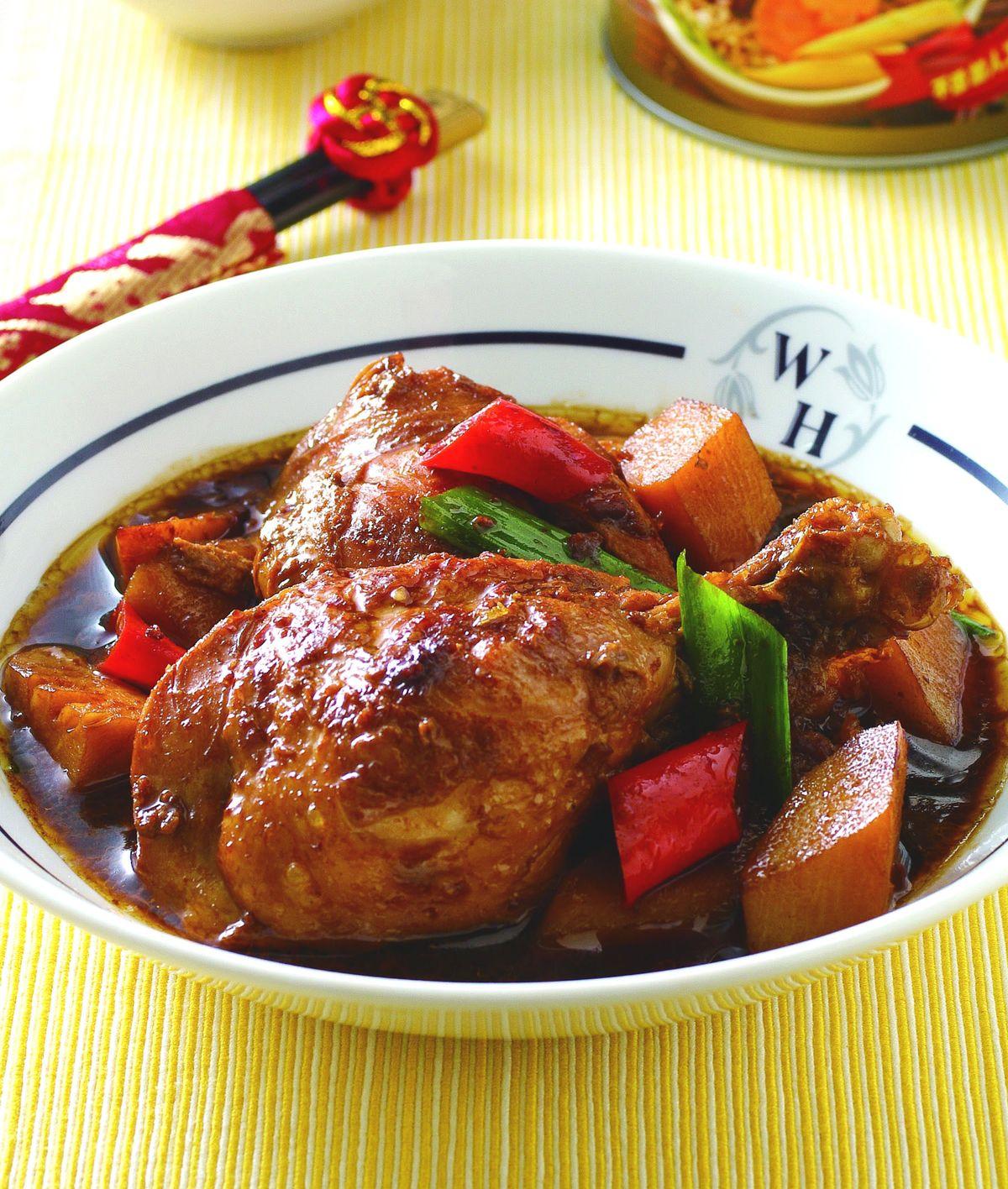 食譜:炸醬燒雞腿