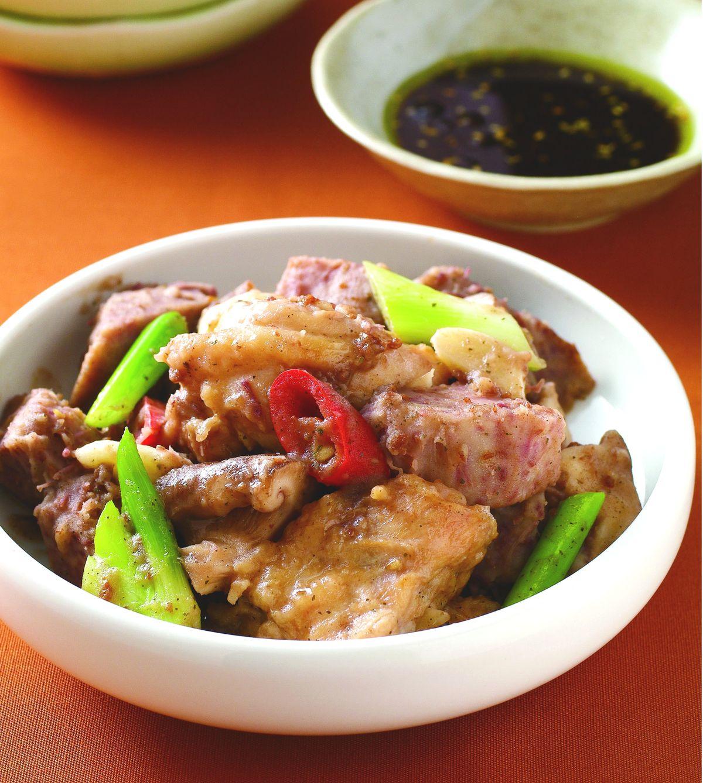 食譜:香椿芋頭雞