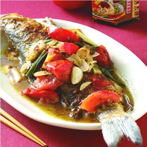 香椿茄汁燒魚