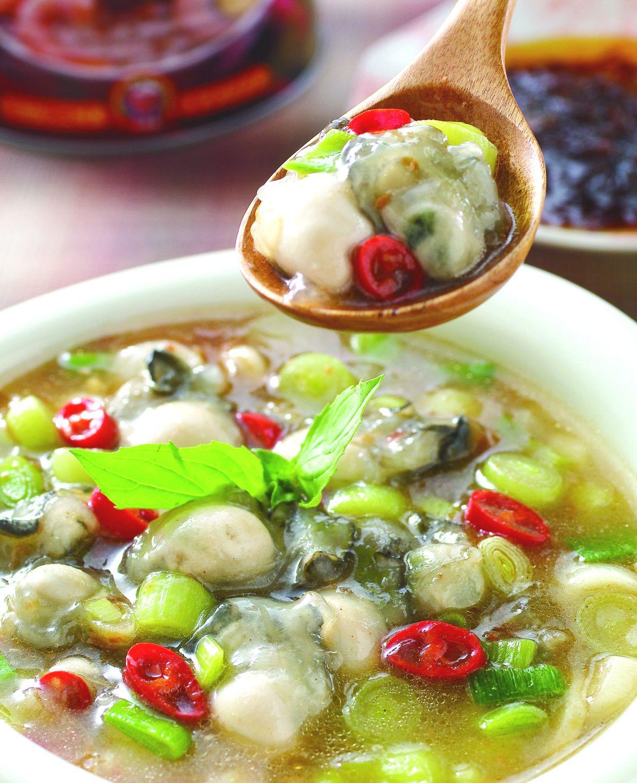 食譜:紅蔥塔香鮮蚵