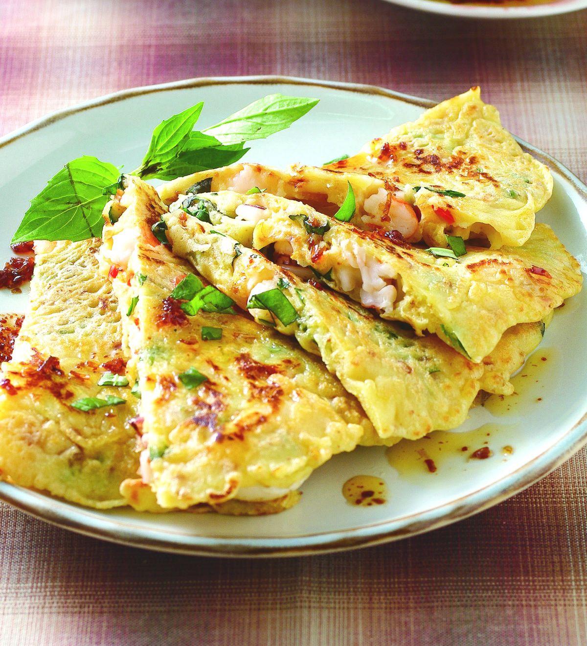 食譜:韓式海鮮紅蔥煎餅