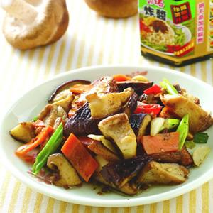 香椿炒鮮菇