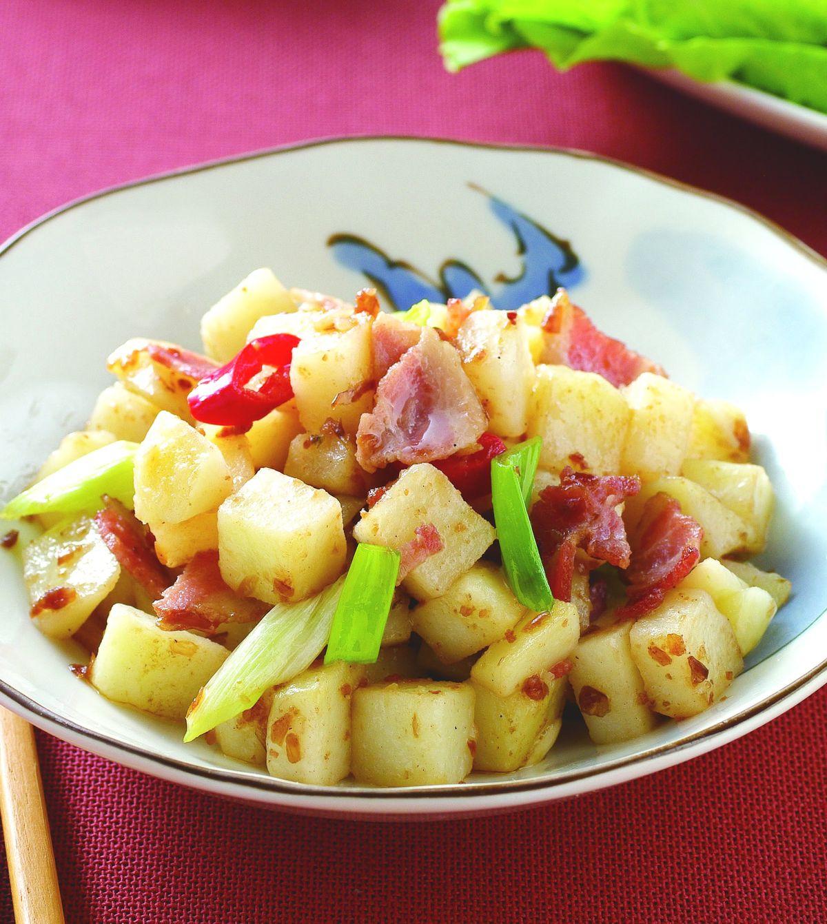 食譜:肉燥培根馬鈴薯
