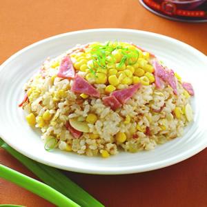紅蔥玉米蛋炒飯