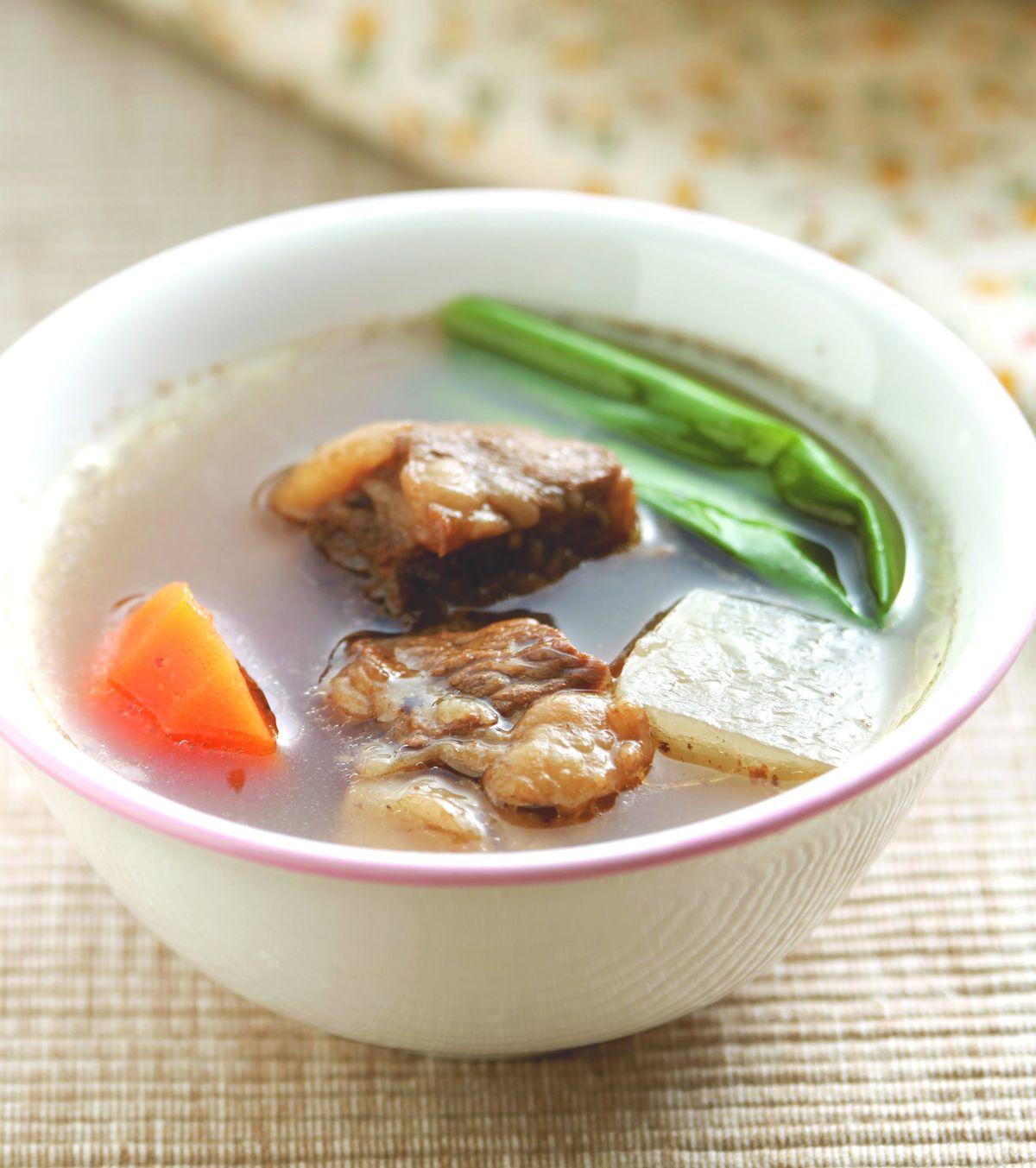 食譜:清燉牛肉湯(2)