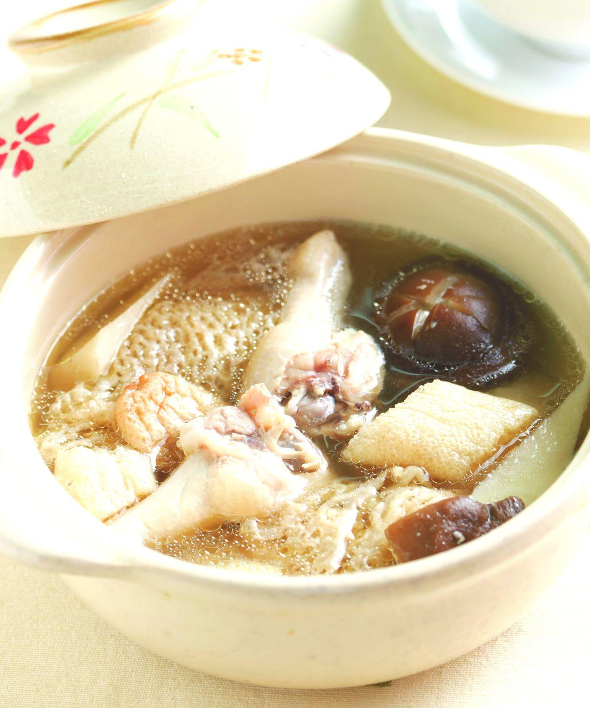 食譜:仙草燉雞湯