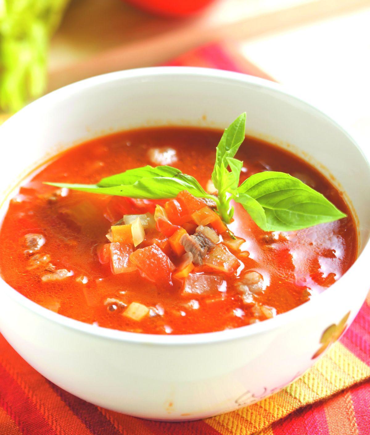食譜:蕃茄羅宋湯(1)