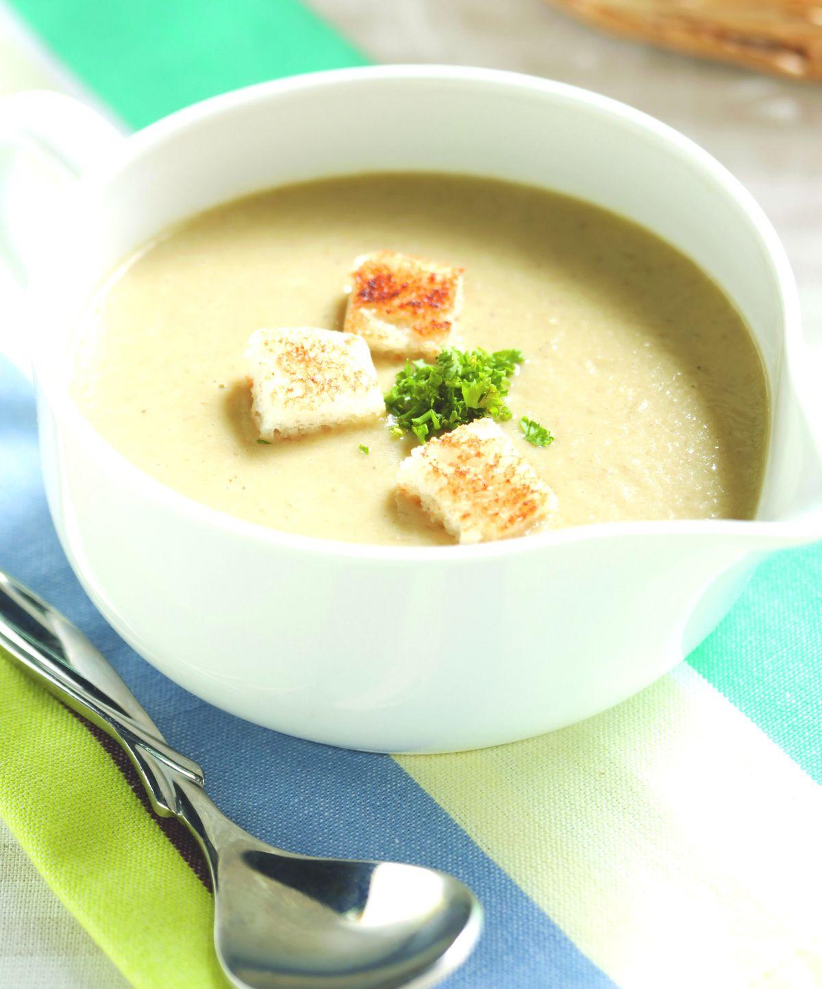 食譜:白花椰雞肉濃湯