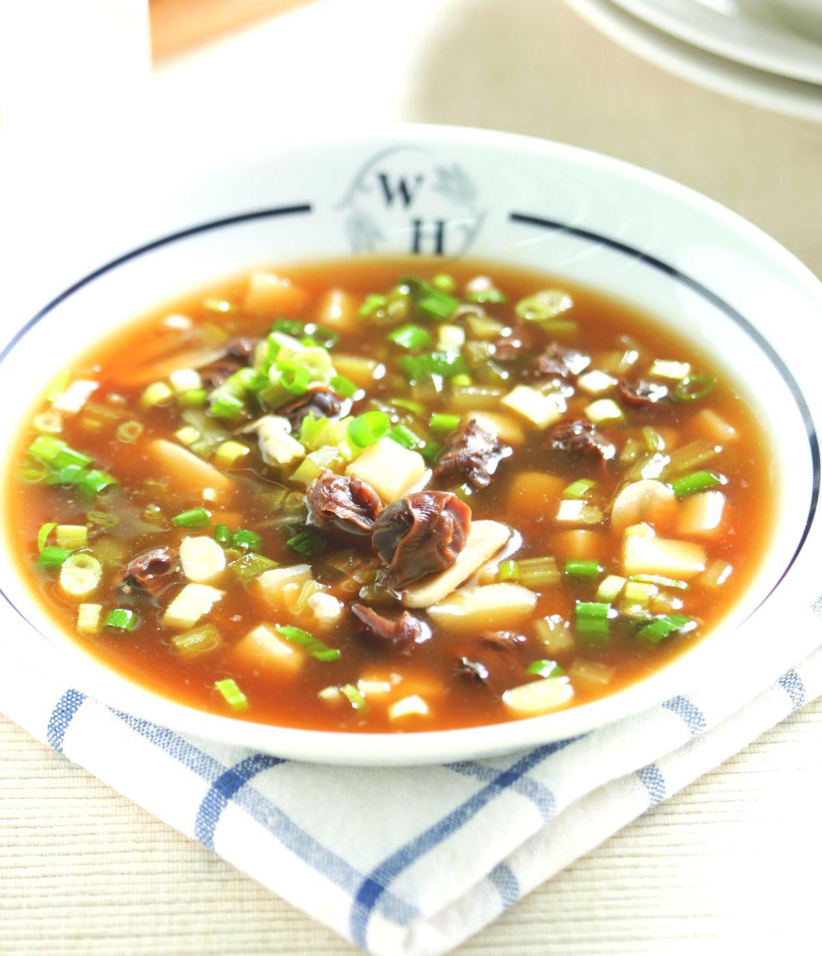 食譜:西芹螺肉濃湯