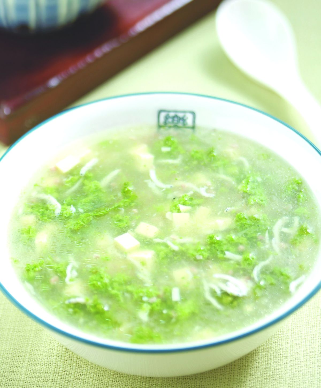 食譜:西湖翡翠羹
