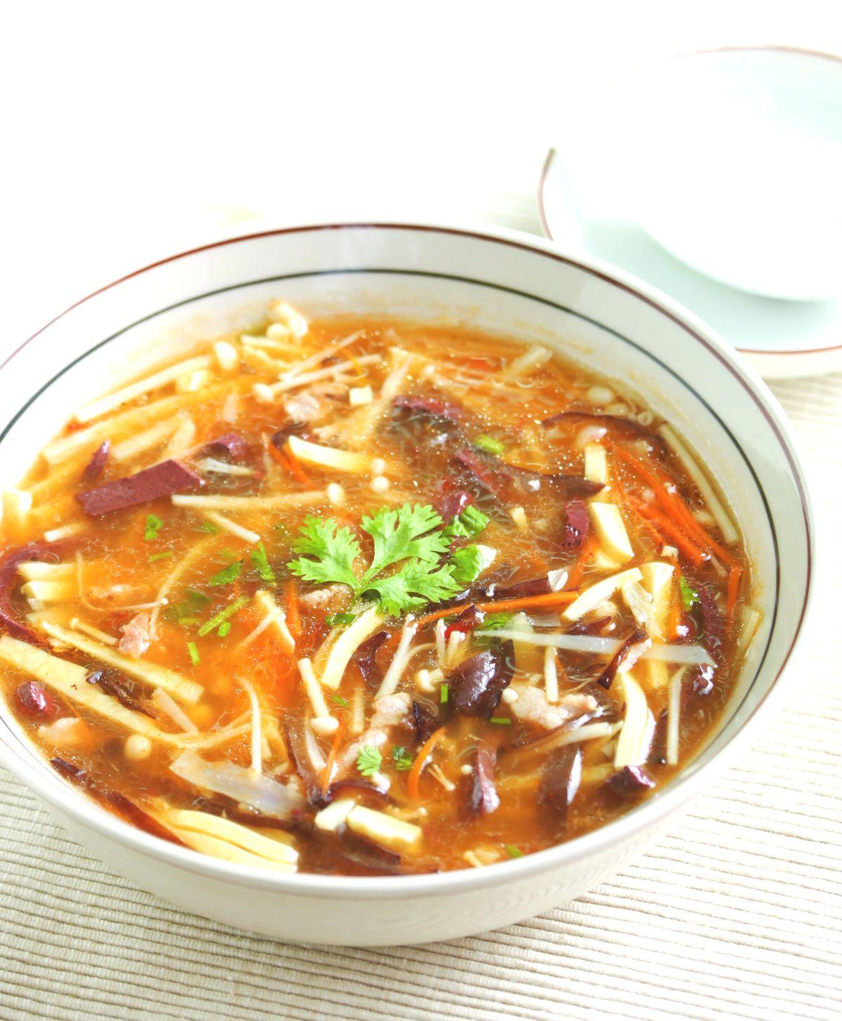 食譜:川味酸辣湯