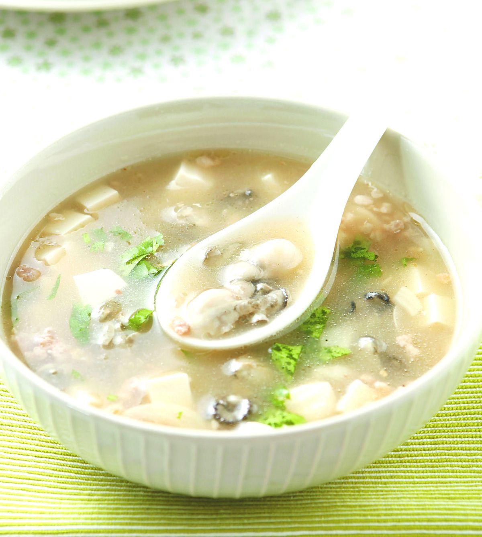 食譜:生蚵豆腐羹