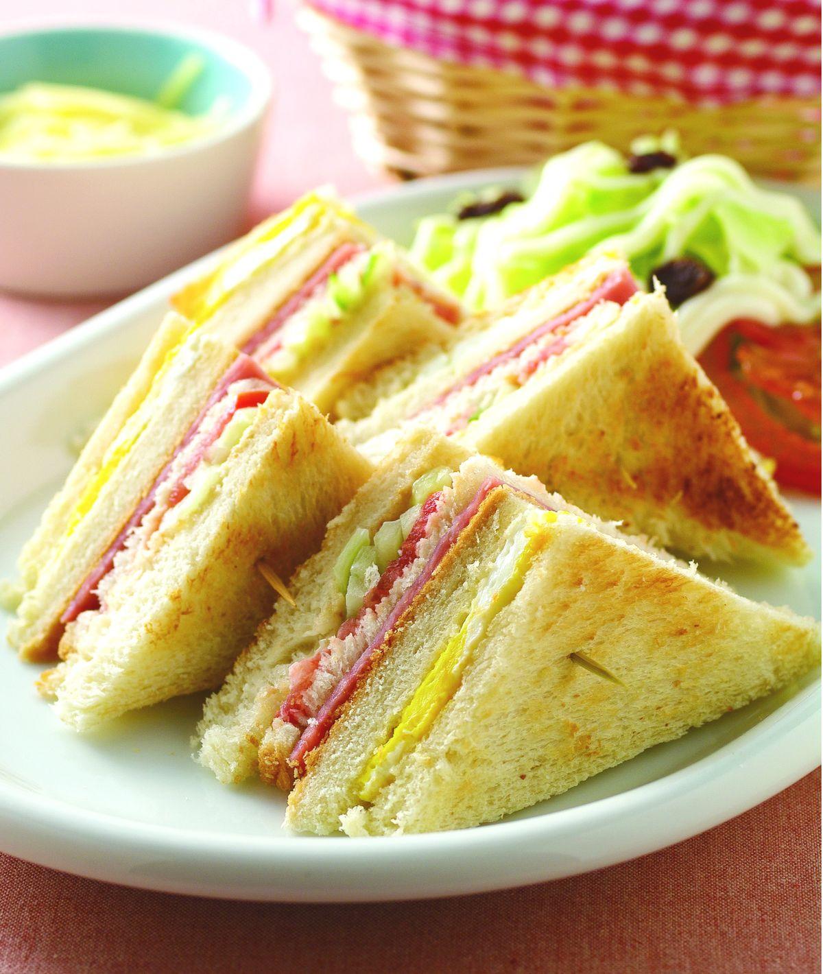 食譜:總匯三明治(7)