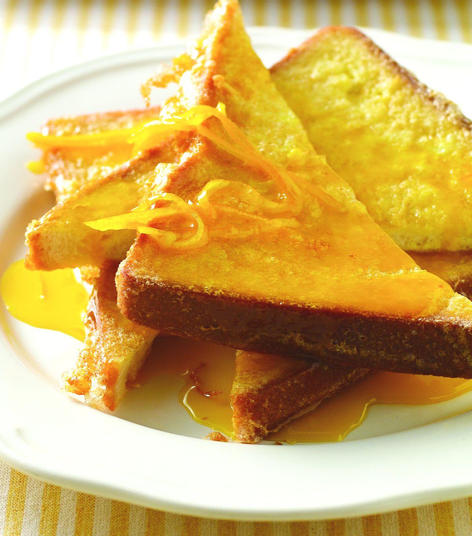 食譜:橙汁煎土司