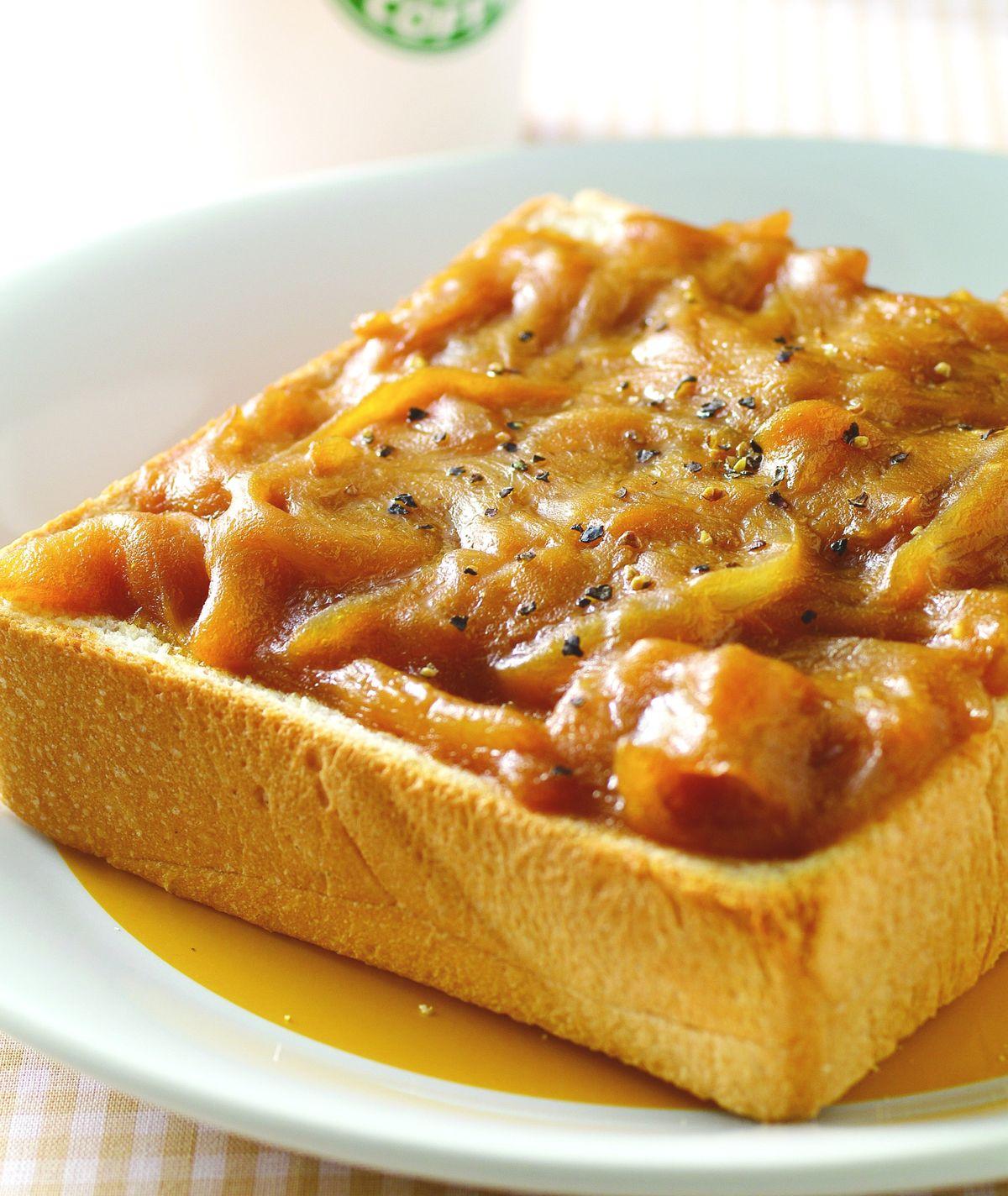 食譜:洋蔥醬烤土司