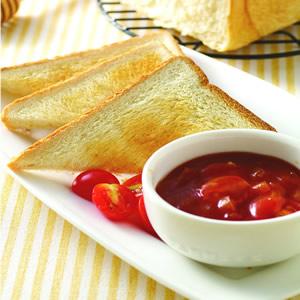 茄汁燴烤土司