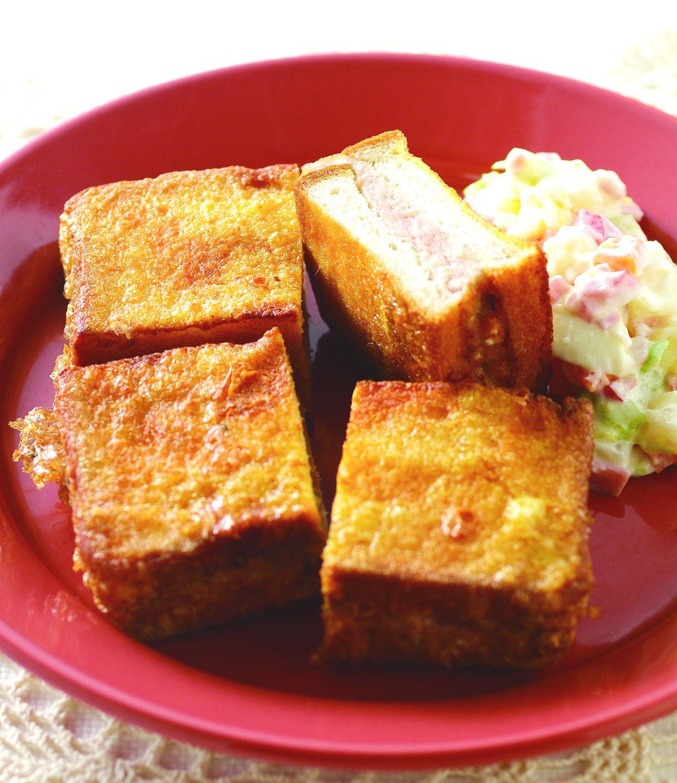 食譜:土司夾肉