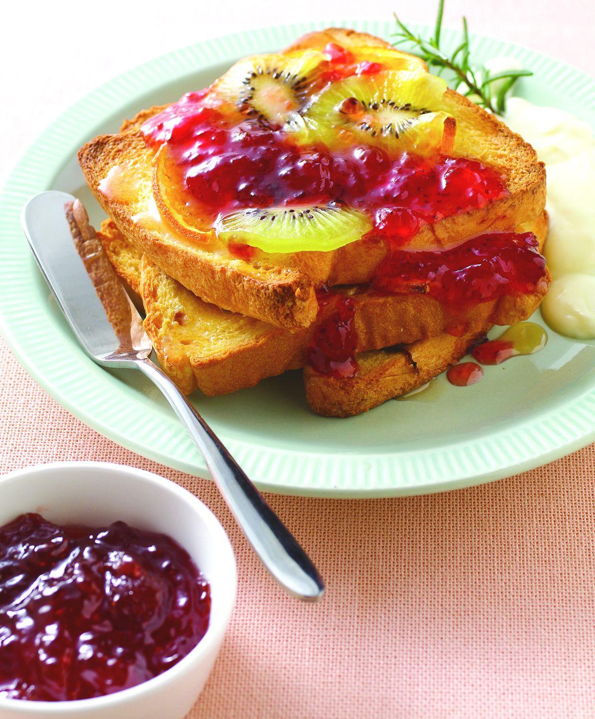 食譜:烤水果塔