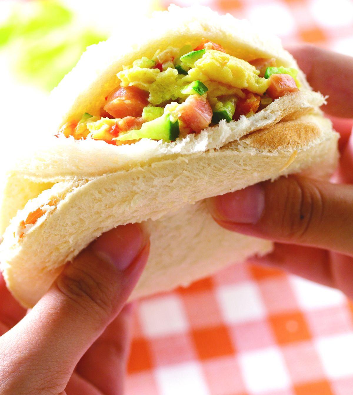 食譜:吐司口袋餅
