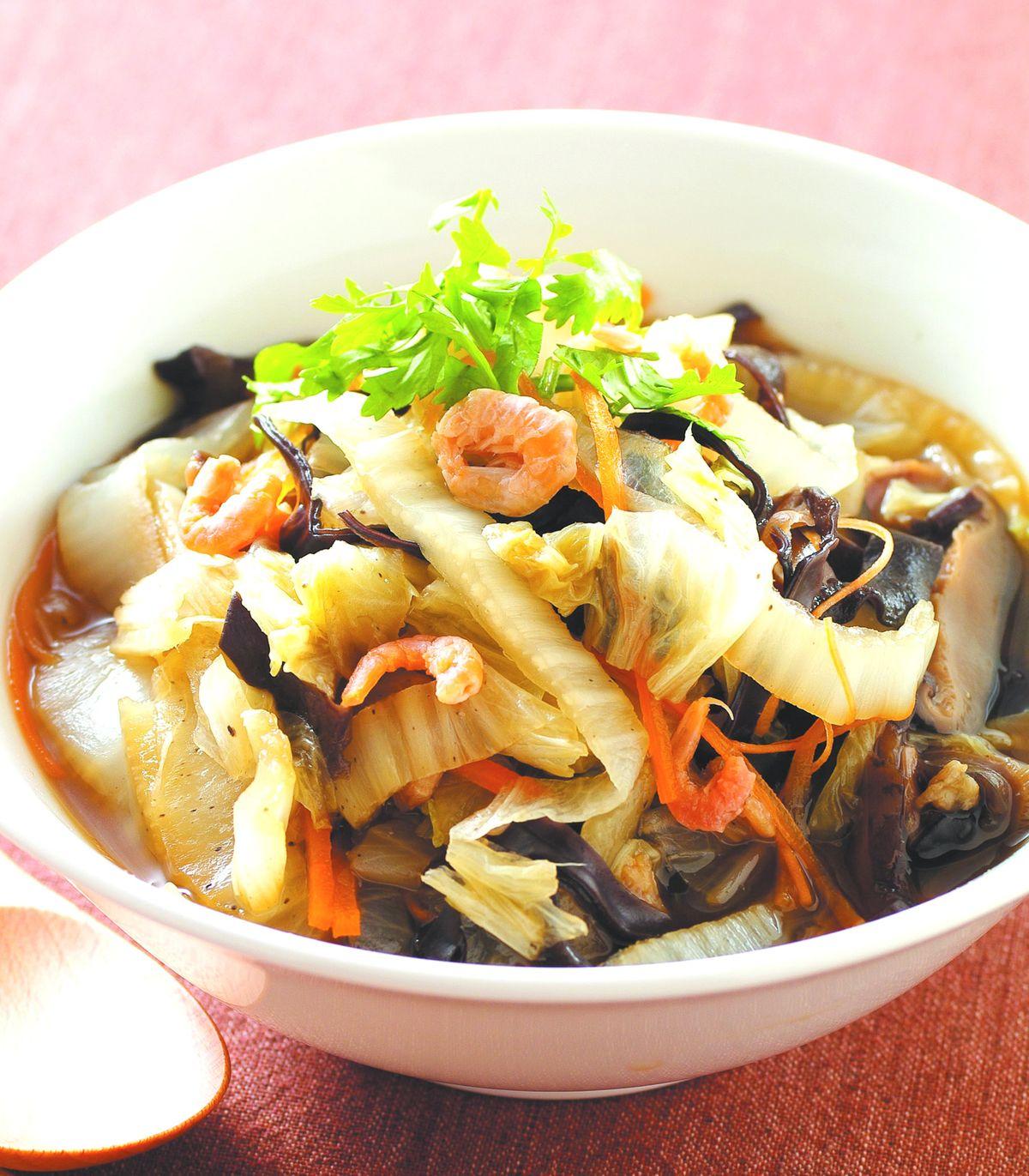 食譜:白菜滷(7)