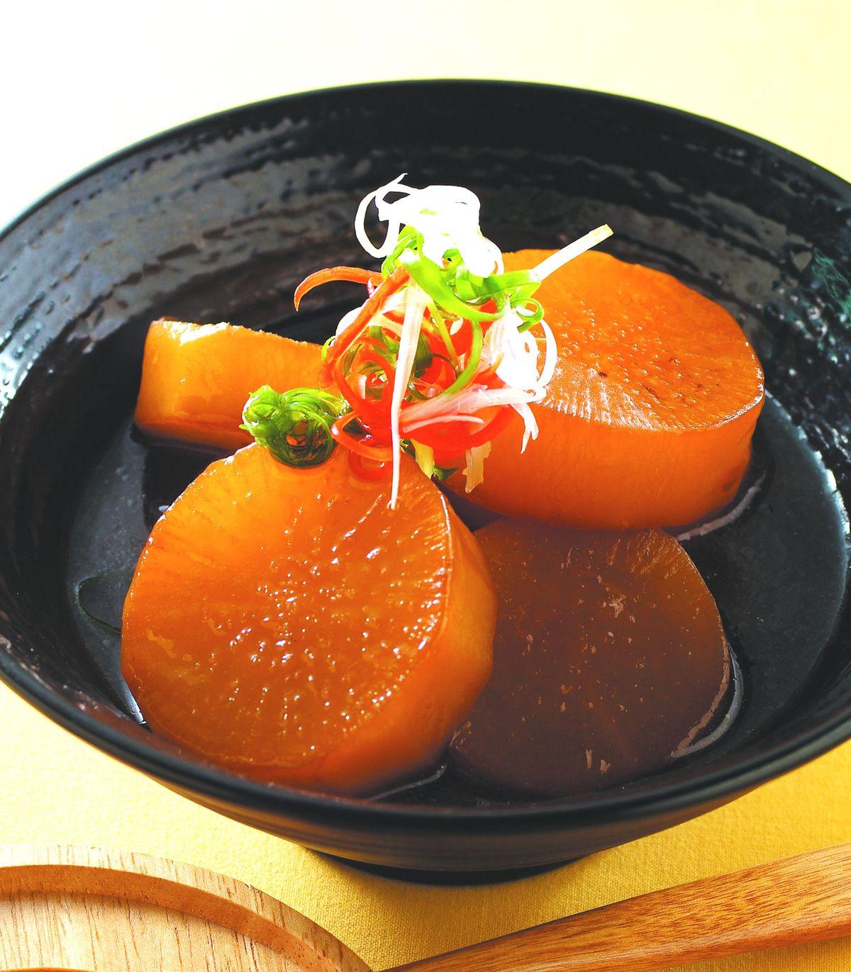 食譜:滷白蘿蔔