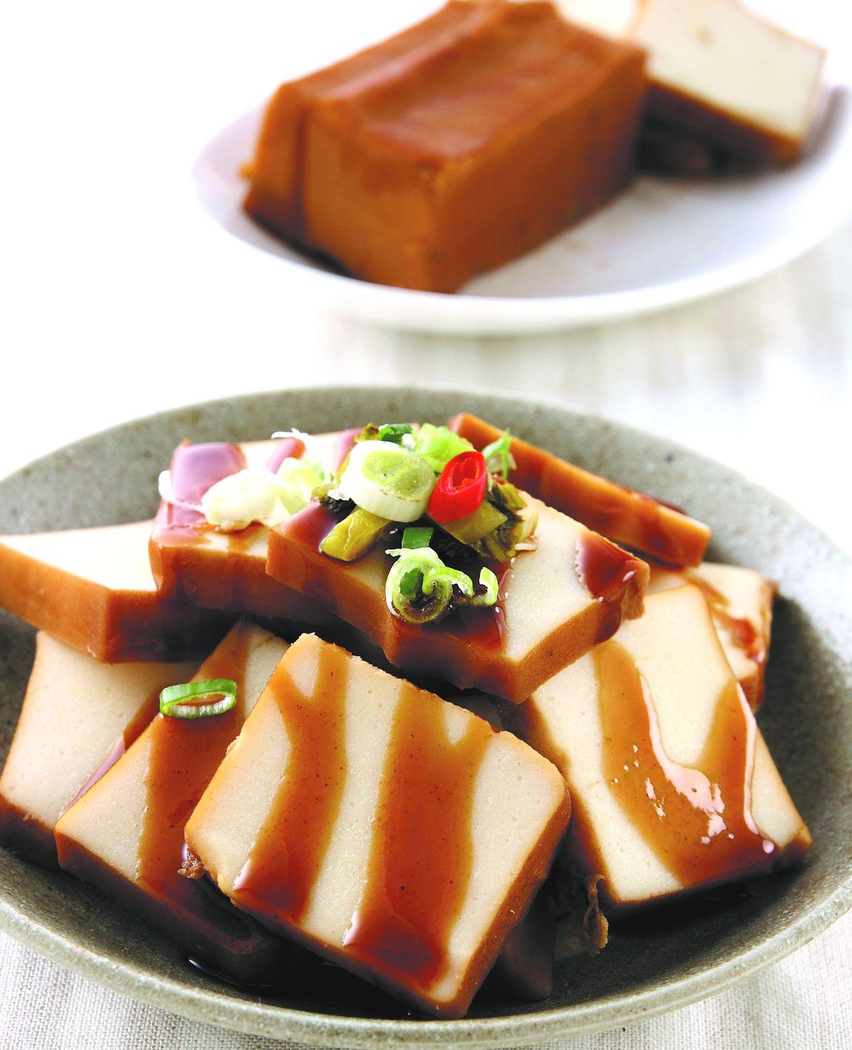 食譜:滷百頁豆腐