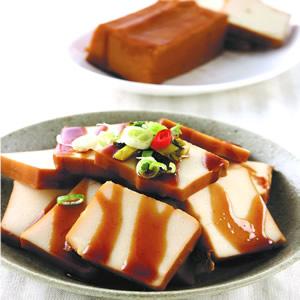 滷百頁豆腐