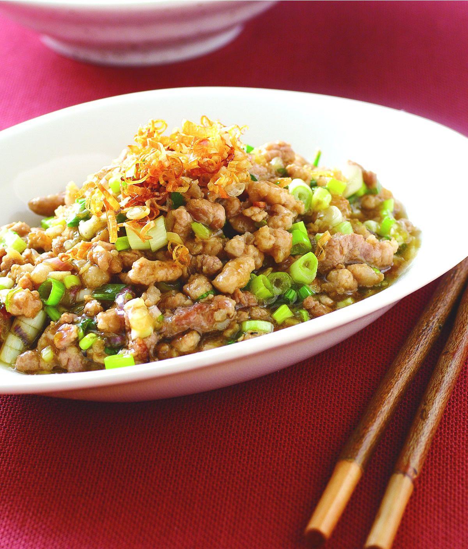 食譜:蔥油豬肉醬