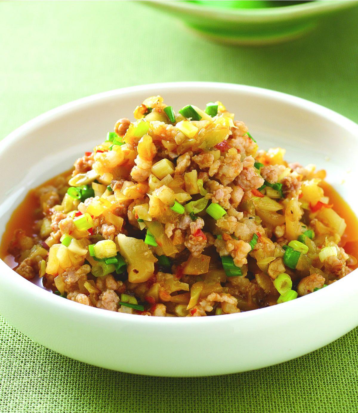 食譜:榨菜肉醬(1)