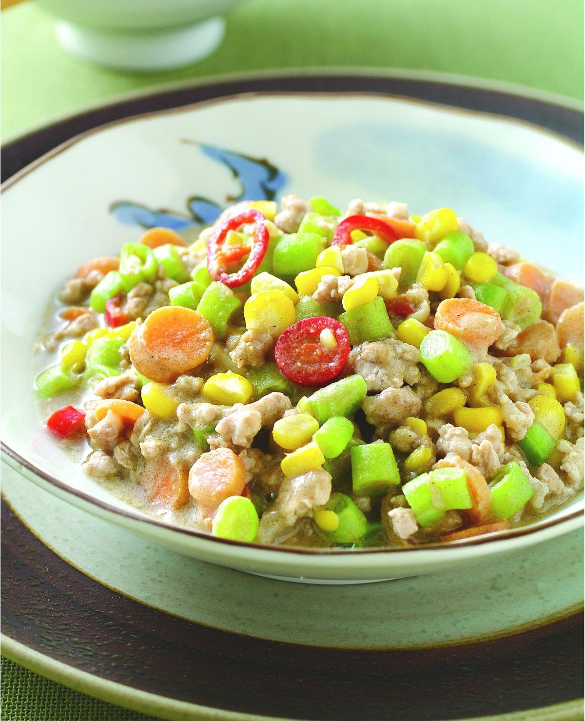 食譜:芝麻蔬菜肉醬