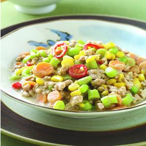 芝麻蔬菜肉醬