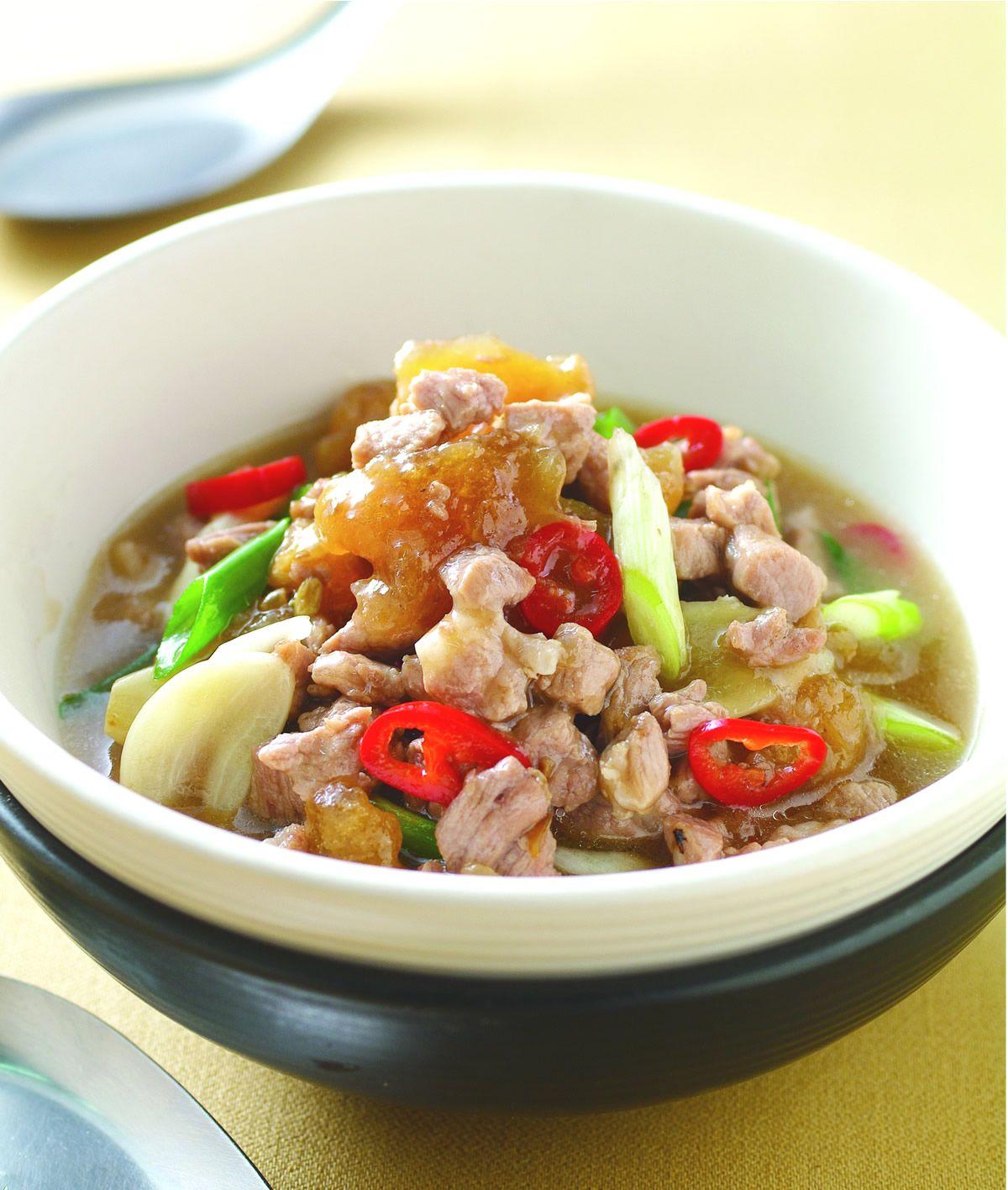 食譜:鹹冬瓜肉蒸魚醬