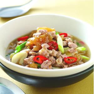 鹹冬瓜肉蒸魚醬
