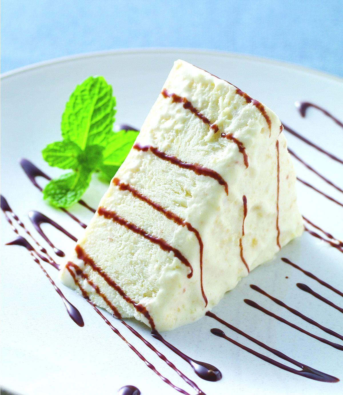 食譜:杏仁霜冰蛋糕