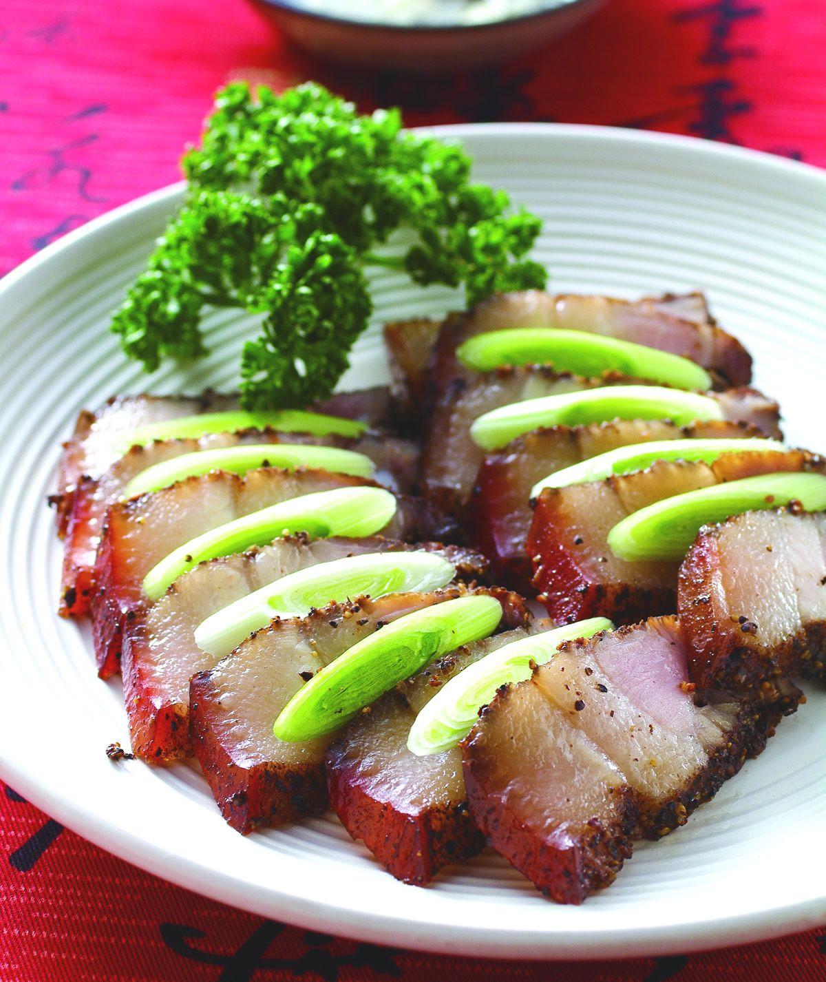 食譜:烤鹹豬肉