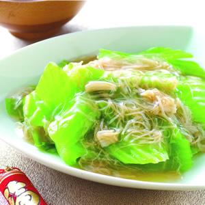 芥菜燴干貝