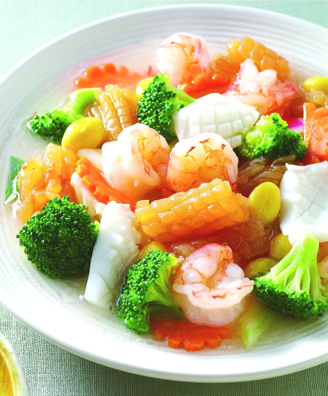 食譜:白果燴海鮮