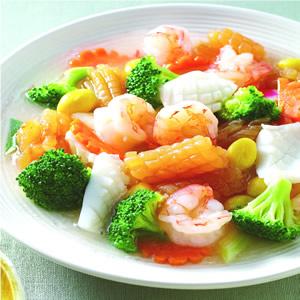 白果燴海鮮