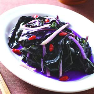 麻油炒紅鳳菜