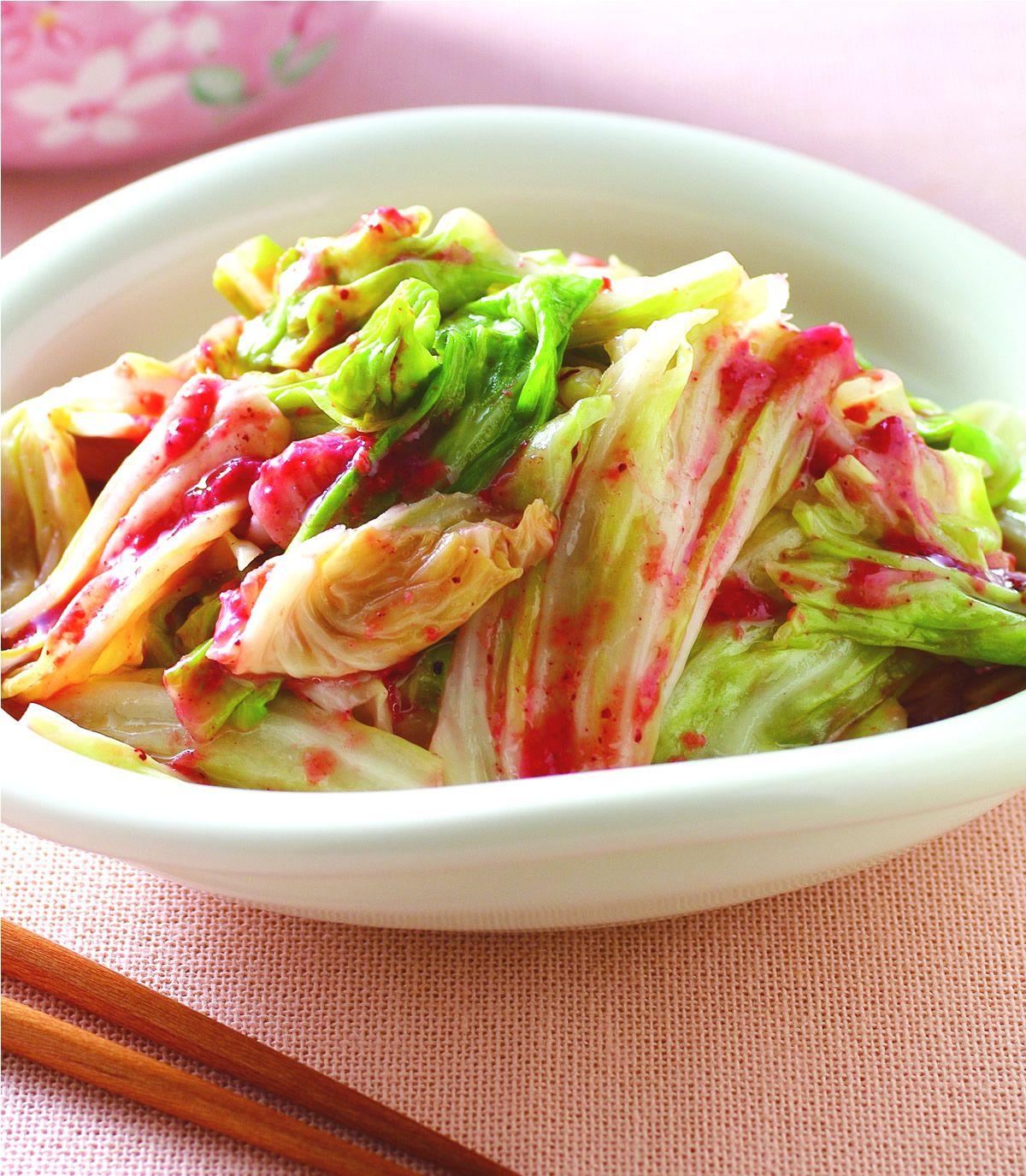 食譜:紅麴高麗菜
