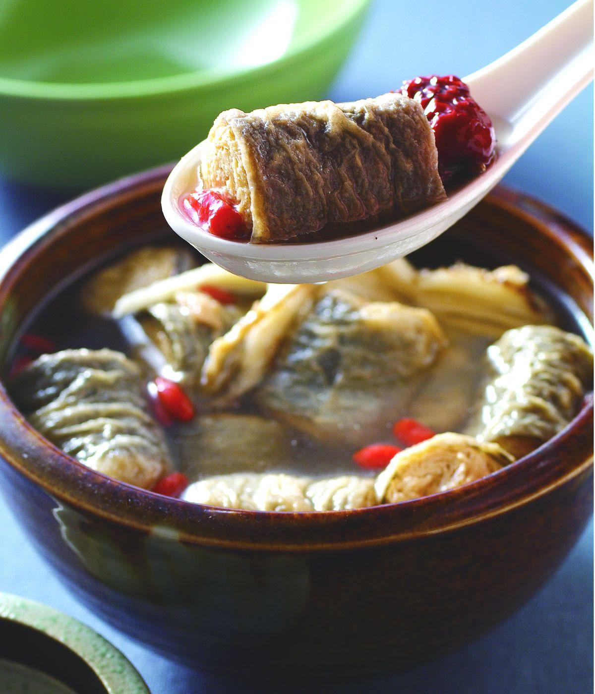 食譜:素燉鰻魚