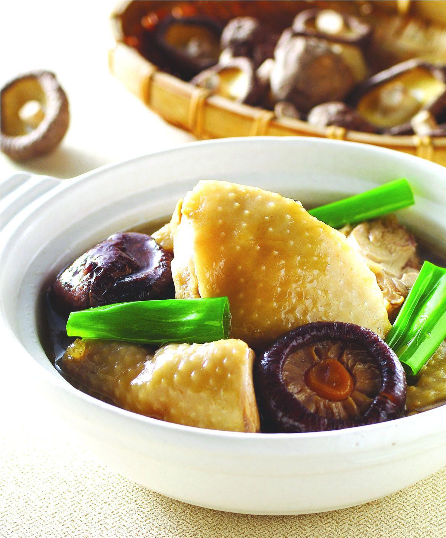 食譜:香菇滷雞肉