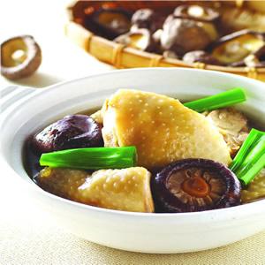 香菇滷雞肉