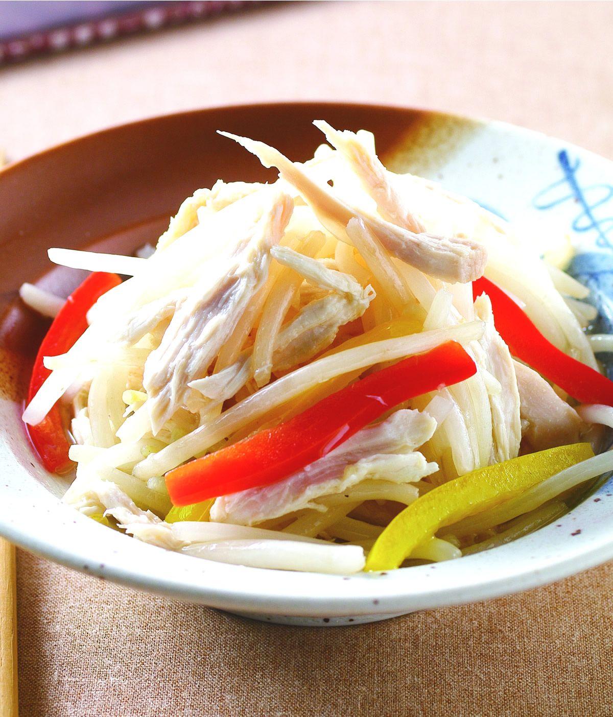 食譜:銀芽炒雞絲(1)