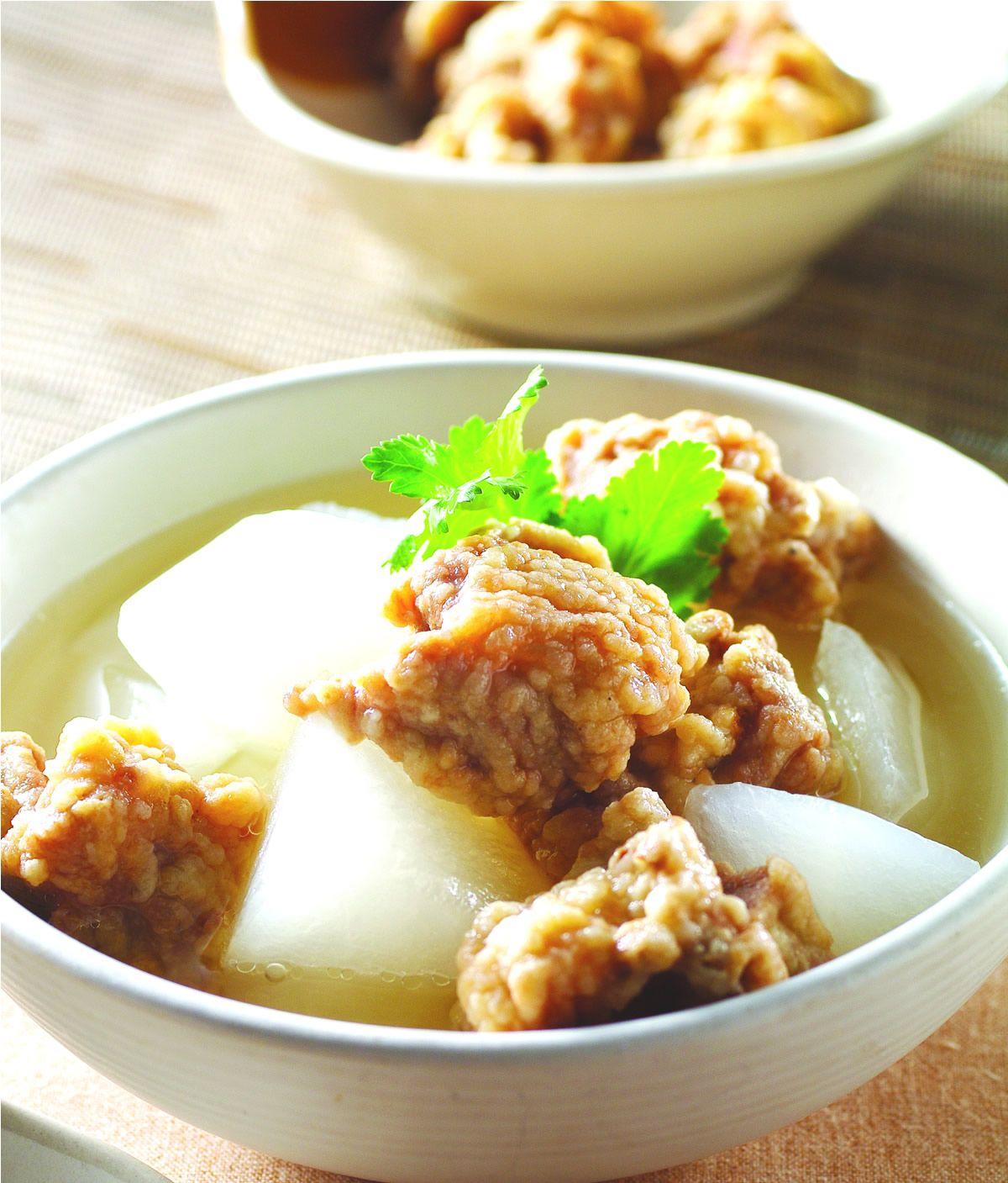 食譜:排骨酥湯