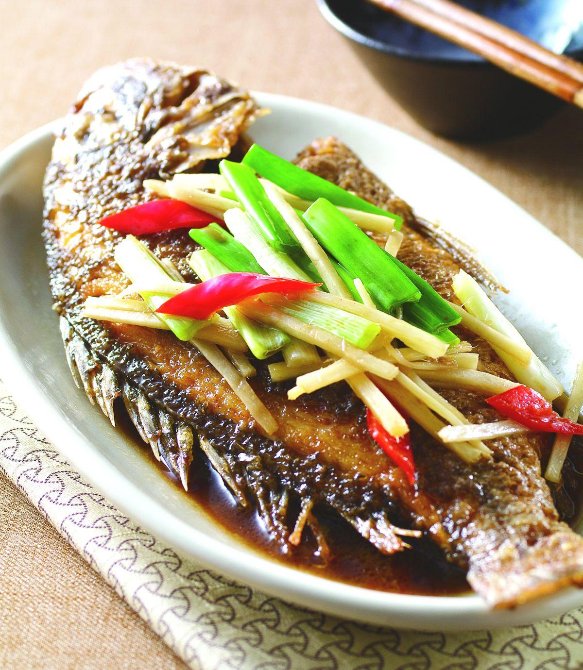 食譜:紅燒魚(4)